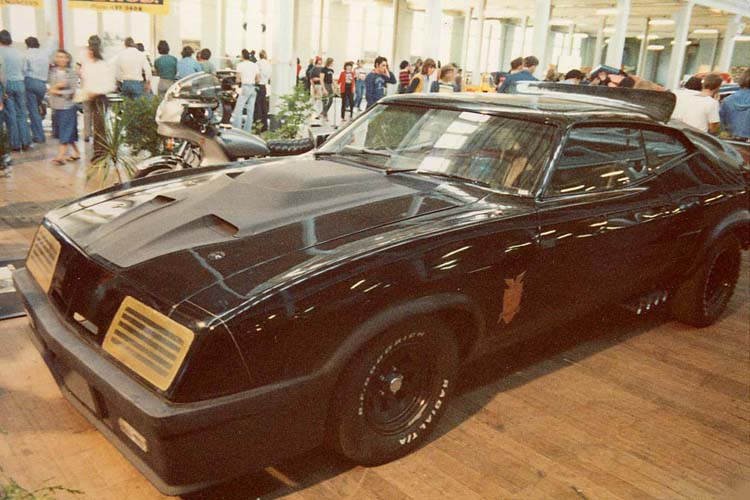Mad Max Interceptor - Melbourne Hot Rod Show, January 1979